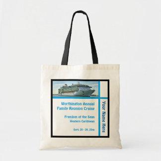 Liner Ship Vignette Custom Tote Bag