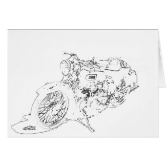 LineRider Greeting Card