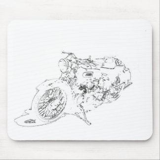 LineRider Mouse Pad