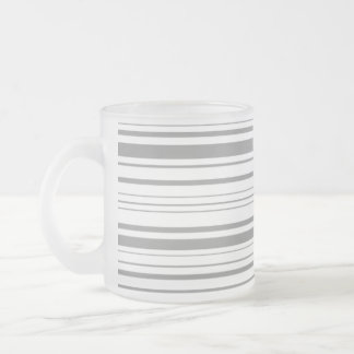lines 10 oz frosted glass coffee mug
