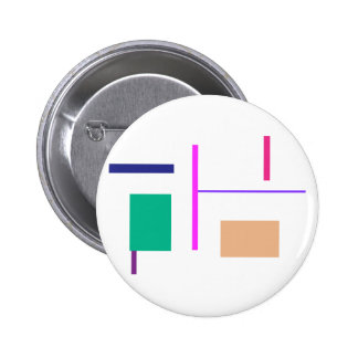 Lines 2 2 inch round button