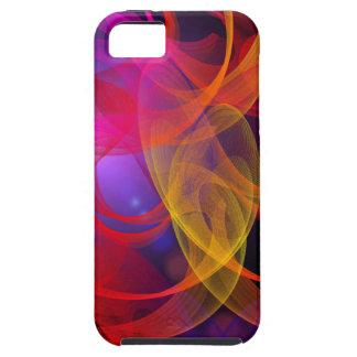 lines-403503 RANDOM DIGITAL SWIRLS COLORFUL lines iPhone 5 Cover