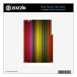 lines 99 iPod touch 4G decal