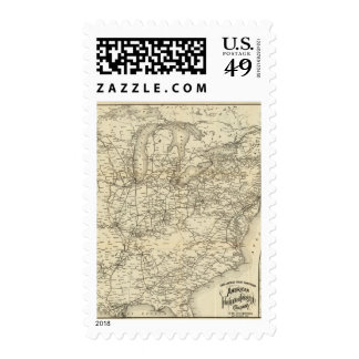Lines and Metallic Circuit Connections in Maine Postage Stamp