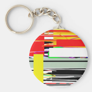 Lines and squares keychain