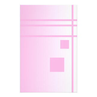 Lines and Squares. Pink Abstract Design. Flyer