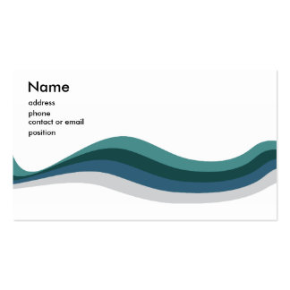 Lines are Awesome Name Card Double-Sided Standard Business Cards (Pack Of 100)