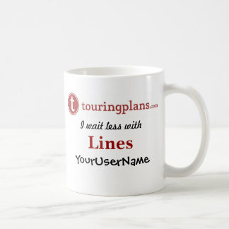 Lines Classic White 11 oz. Mug