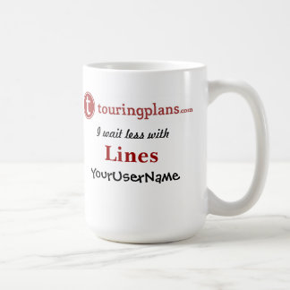 Lines Classic White 15 oz. Mug