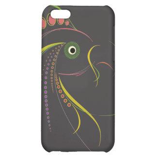 Lines Color Bird Dark iPhone 5C Covers