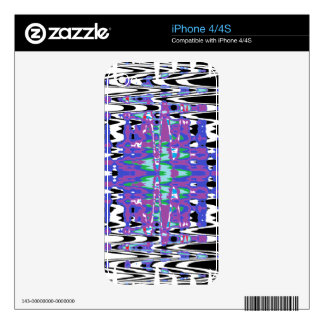 Lines Decal For iPhone 4
