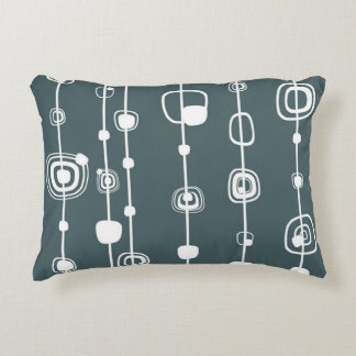lines_grey decorative pillow