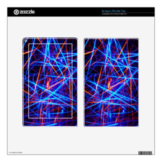 Lines In Three Dimensions Skins For Kindle Fire