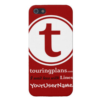 Lines iPhone 5 Case Red