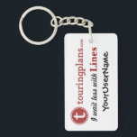 """Lines Key Chain (White)<br><div class=""""desc"""">TO CUSTOMIZE: (1) Click on the &quot;Customize It!&quot; button just below the key chain&#39;s picture. (2) On the RIGHT, under &quot;Customize It!&quot; - in the bar that says &quot;YourUserName&quot; - click on &quot;Change text.&quot; (3) An &quot;Add Text... &quot; box will appear. Highlight &quot;YourUserName&quot; and type in your custom text. (4)...</div>"""