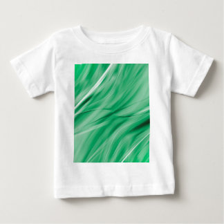Lines lightgreen created by Tutti Baby T-Shirt