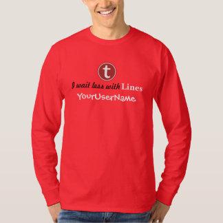 Lines Men's T-Shirt (Vibrant Colors)
