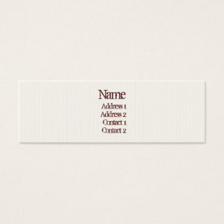 Lines Mini Business Card