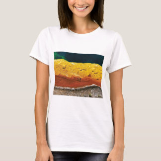 lines of the rocks artwork T-Shirt