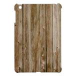 lines of wood iPad mini cover