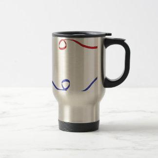 lines on the air travel mug