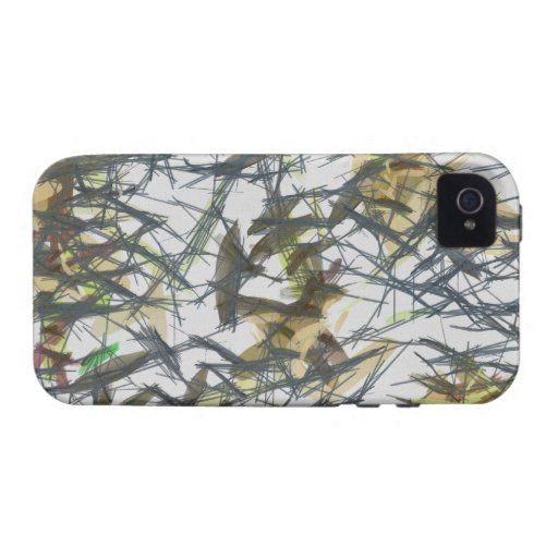 Lines pattern vibe iPhone 4 cover