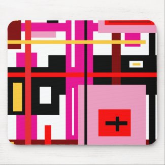 Lines & Rectangles Mousepads