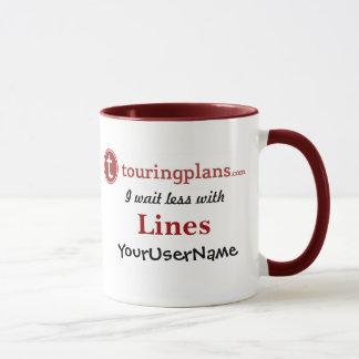 Lines Ringer 11 oz. Mug