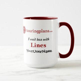 Lines Ringer 15 oz. Mug