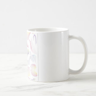 Lines swirls and patterns design mug