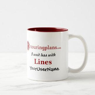 Lines Two-Tone 11 oz. Mug