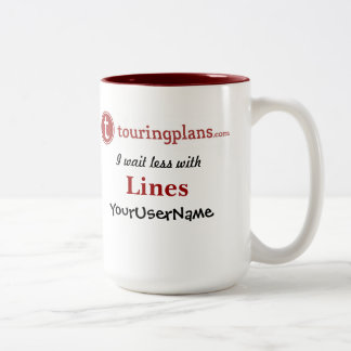 Lines Two-Tone 15 oz. Mug