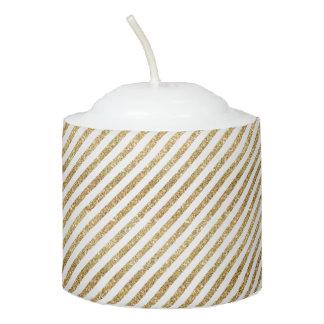 lines votive candle