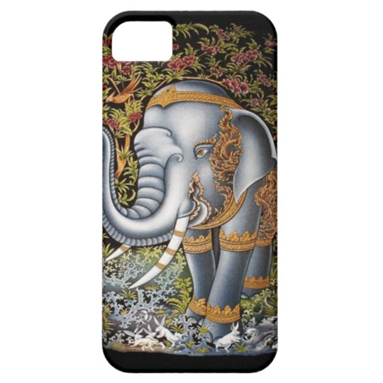 LINETHAI Elephant iPhone SE/5/5s Case