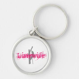Linewife Keychain-Pink Keychain