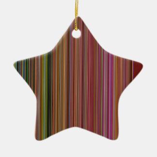 LineX10 Ceramic Ornament
