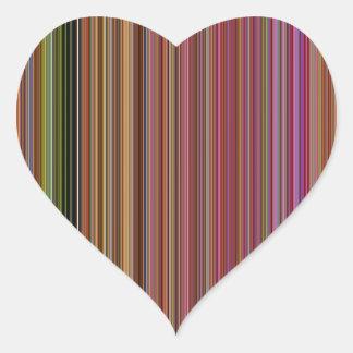 LineX10 Heart Sticker