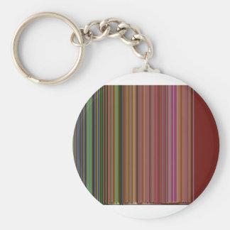 LineX10 Basic Round Button Keychain