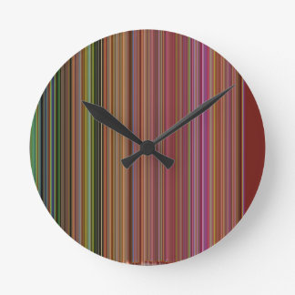 LineX10 Round Clock