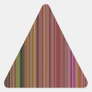 LineX10 Triangle Sticker