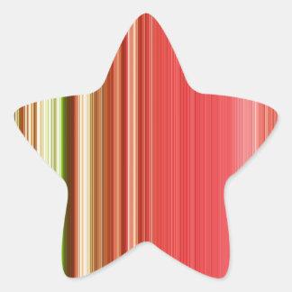 LineX1 Pegatina En Forma De Estrella