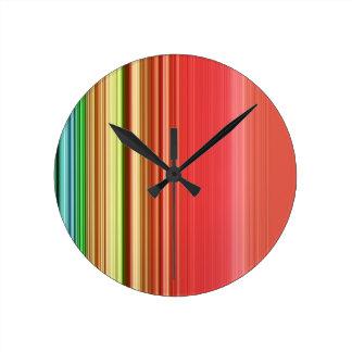 LineX1 Round Clock