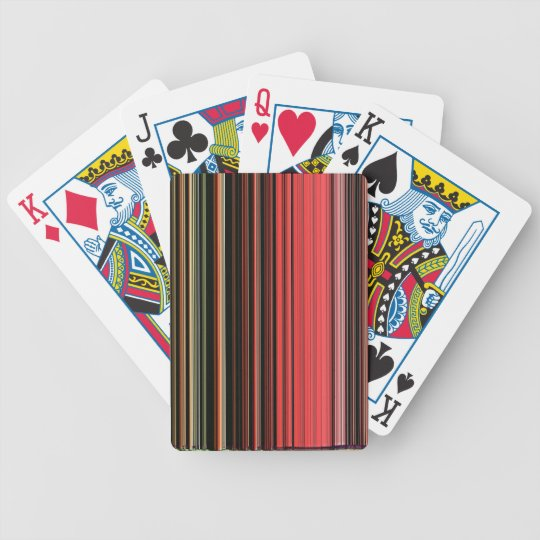 LineX2 Bicycle Playing Cards