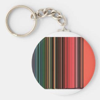 LineX2 Basic Round Button Keychain