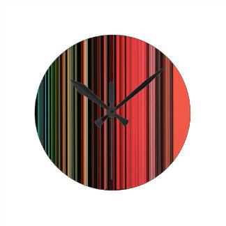 LineX2 Round Clock