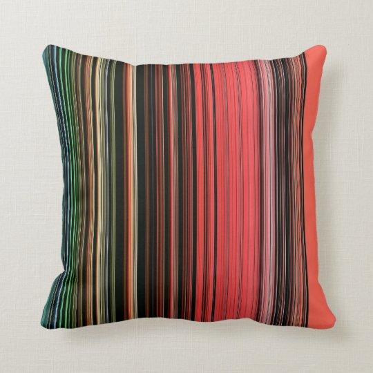 LineX2 Throw Pillow