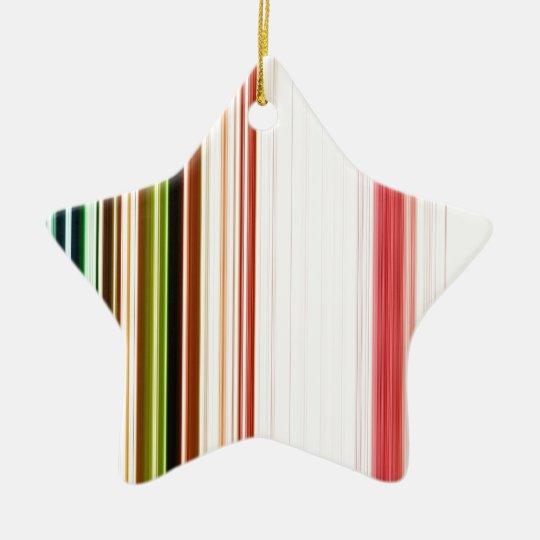 LineX3 Ceramic Ornament