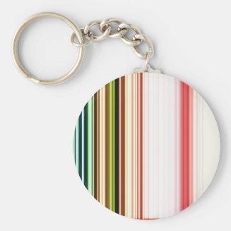 LineX3 Basic Round Button Keychain