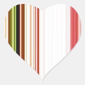 LineX3 Pegatina En Forma De Corazón