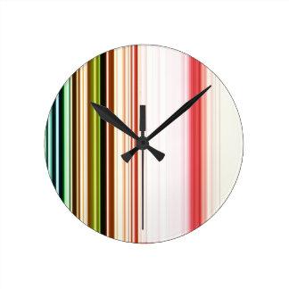 LineX3 Round Clock